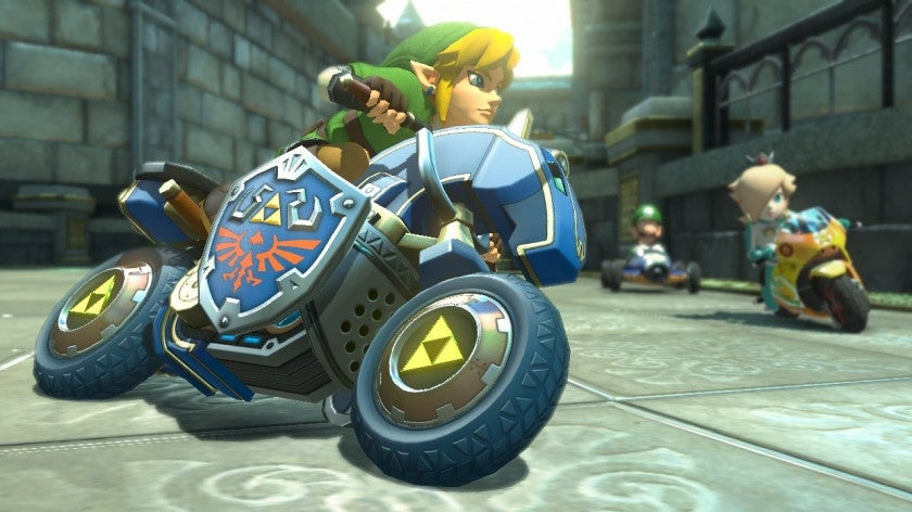 Link Is Now In Mario Kart, And He Brought A Sword