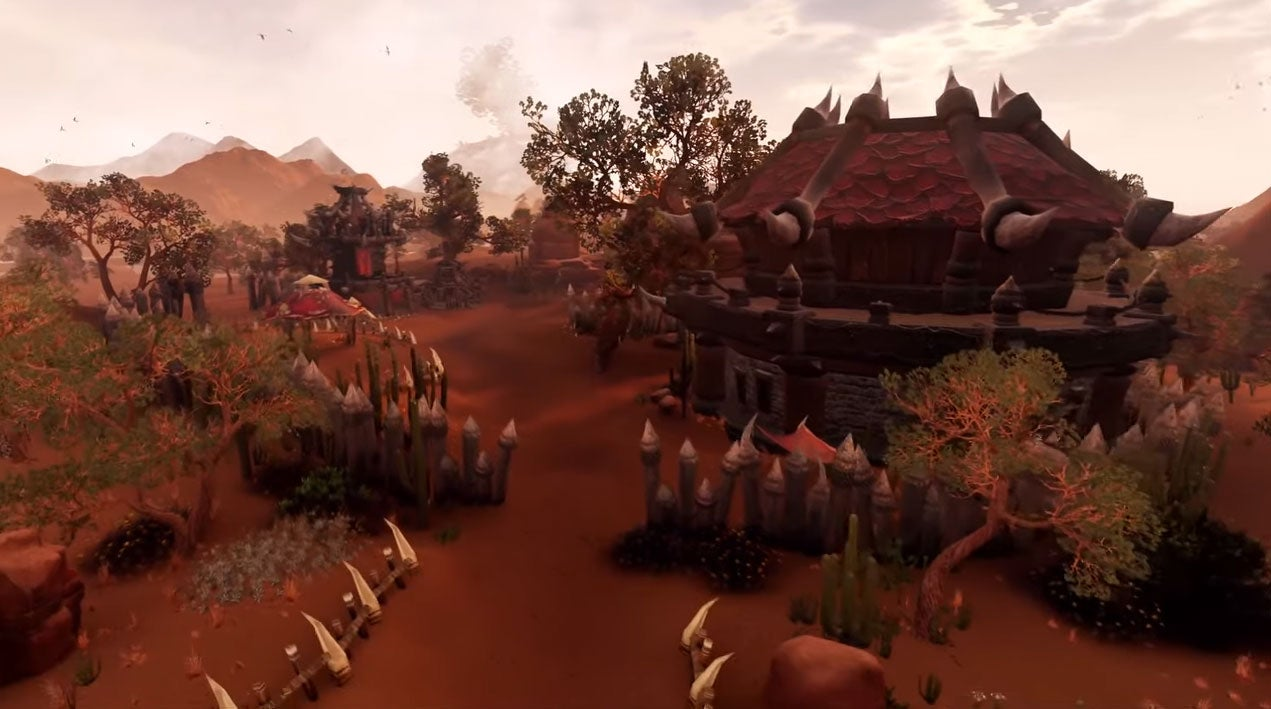 What World Of Warcraft Would Look Like Running In Unreal Engine 4