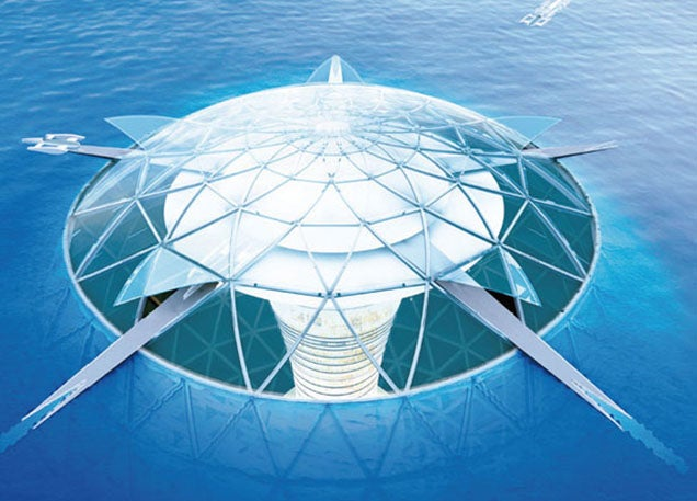 Underwater city could fit 5,000 people and draw energy from the seabed