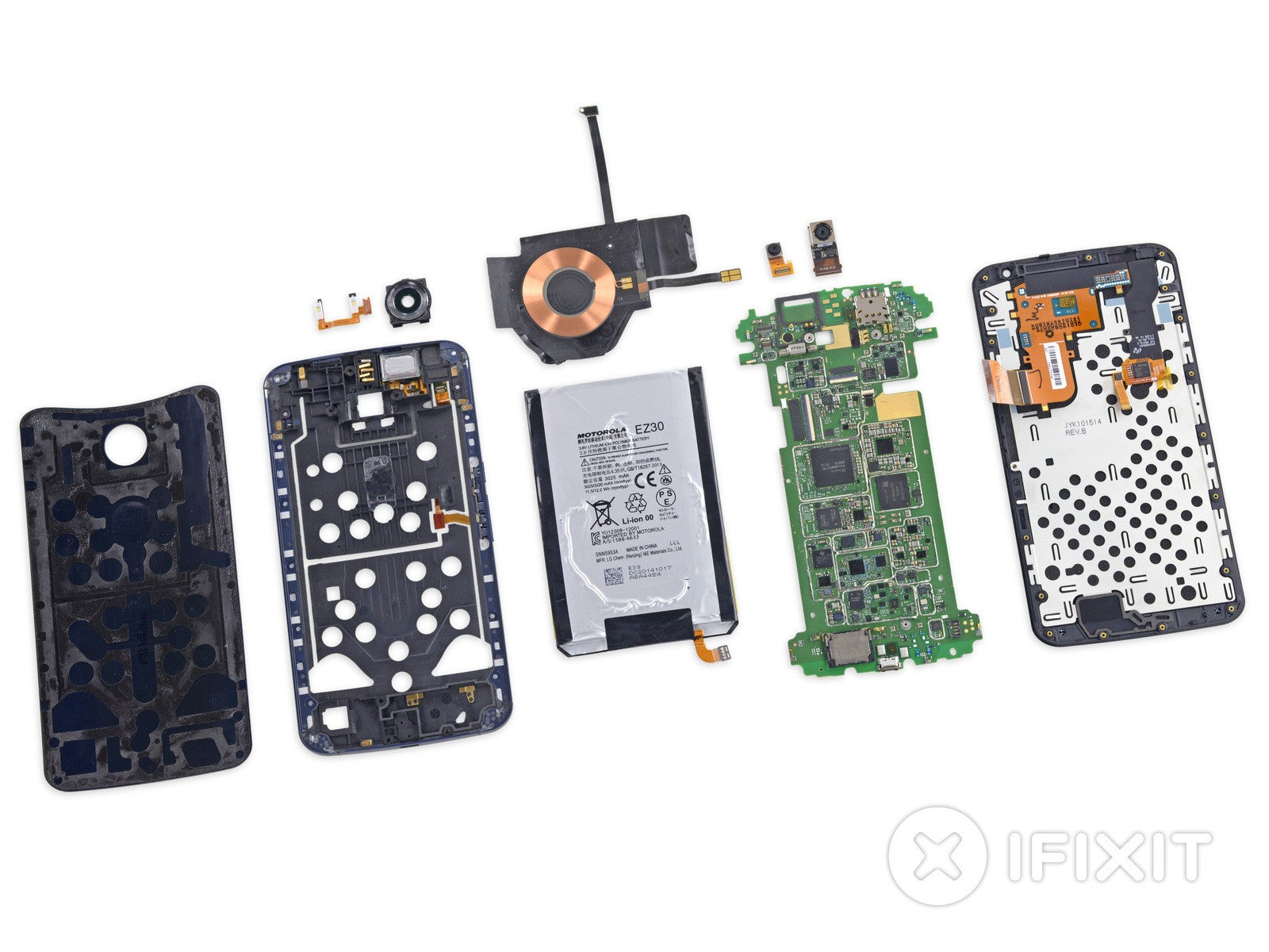 Nexus 6 Teardown: A Big Beast Full of Beautiful Guts