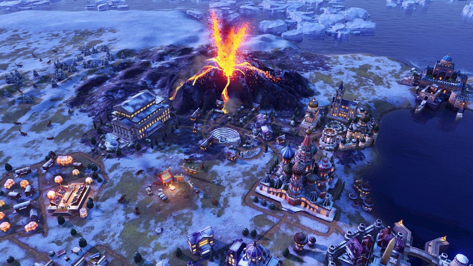 Gathering Storm Expansion Brings Climate Change To Civilization VI