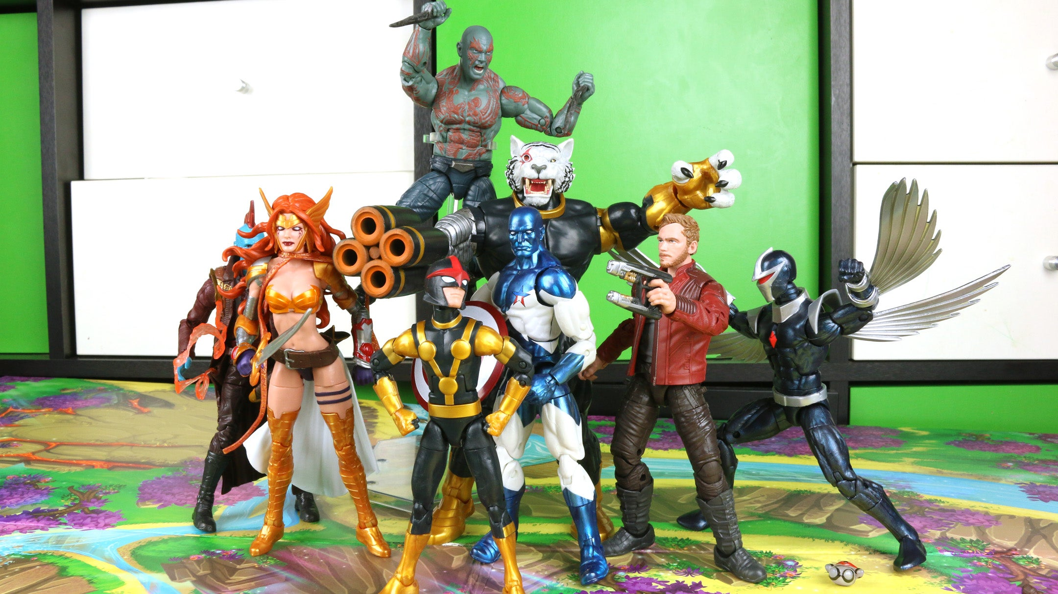 The Latest Marvel Legends Set Is A Guardians Of The Galaxy All-Star Team