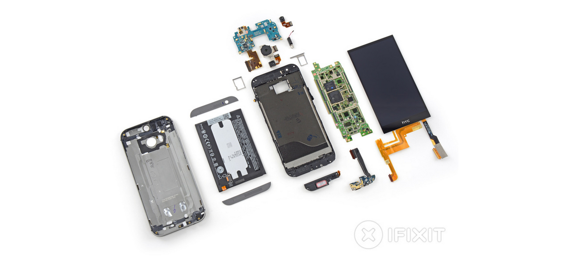 New HTC One Teardown: This Is Why the Warranty Is So Good