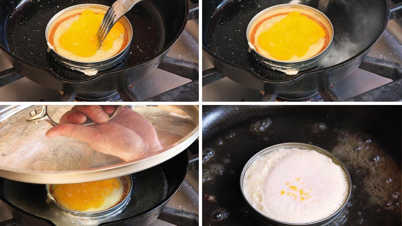 Make a Better Egg McMuffin-Like Sandwich with a Mason Jar Lid