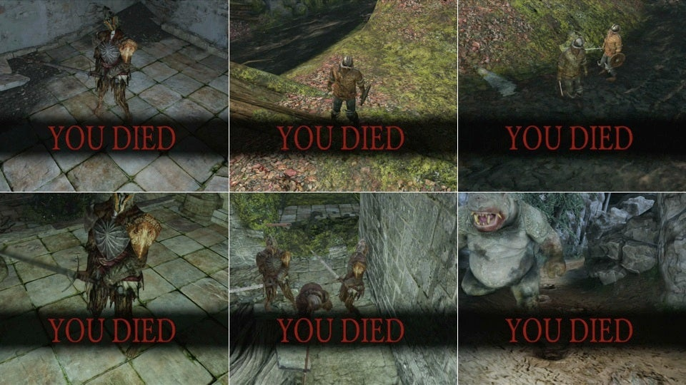 My First 23 Deaths In Dark Souls II