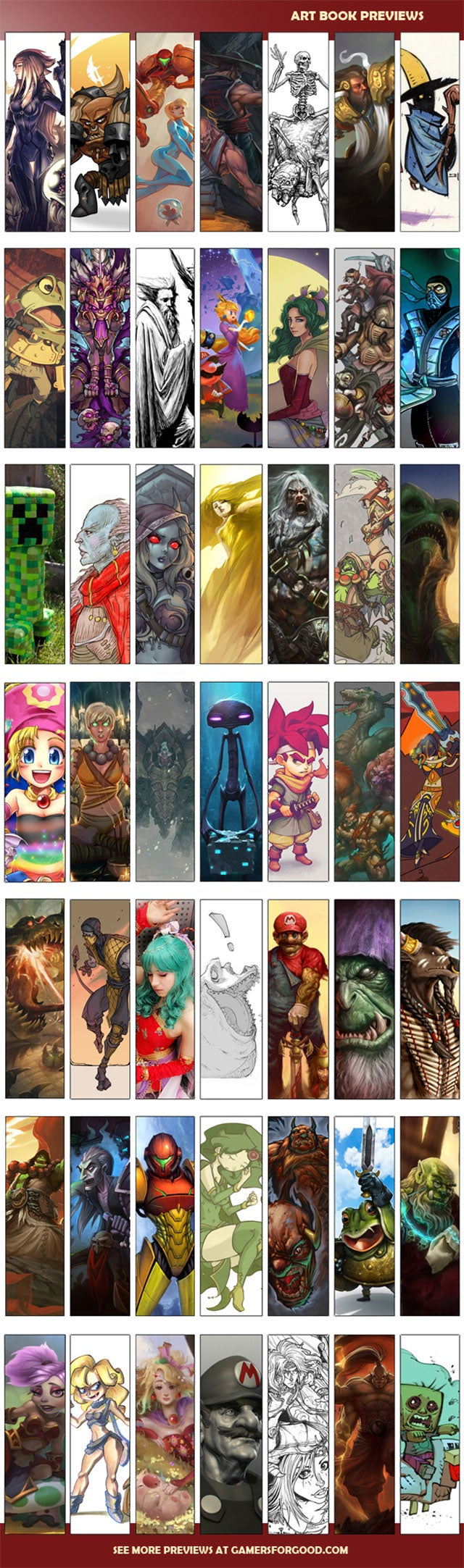 A Video Game Art Book That Also Helps People