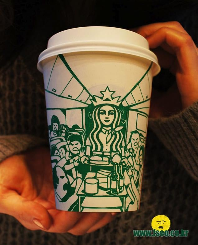 You'll Never See Starbucks Coffee Cups the Same Again