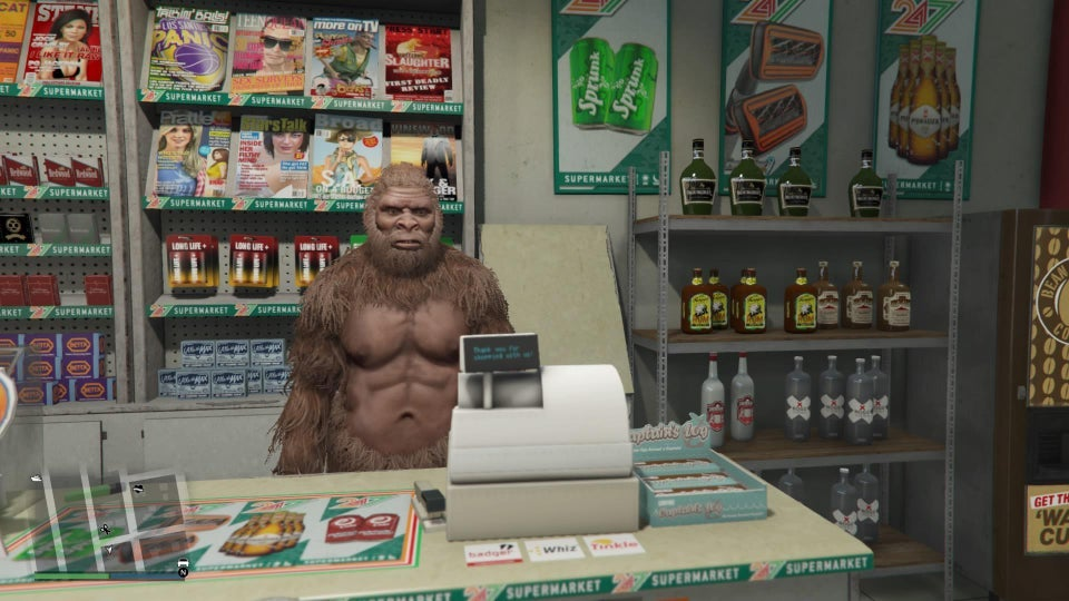 GTA Online's Latest Update Lets Players Become Aliens, Dogs, And Even Bigfoot