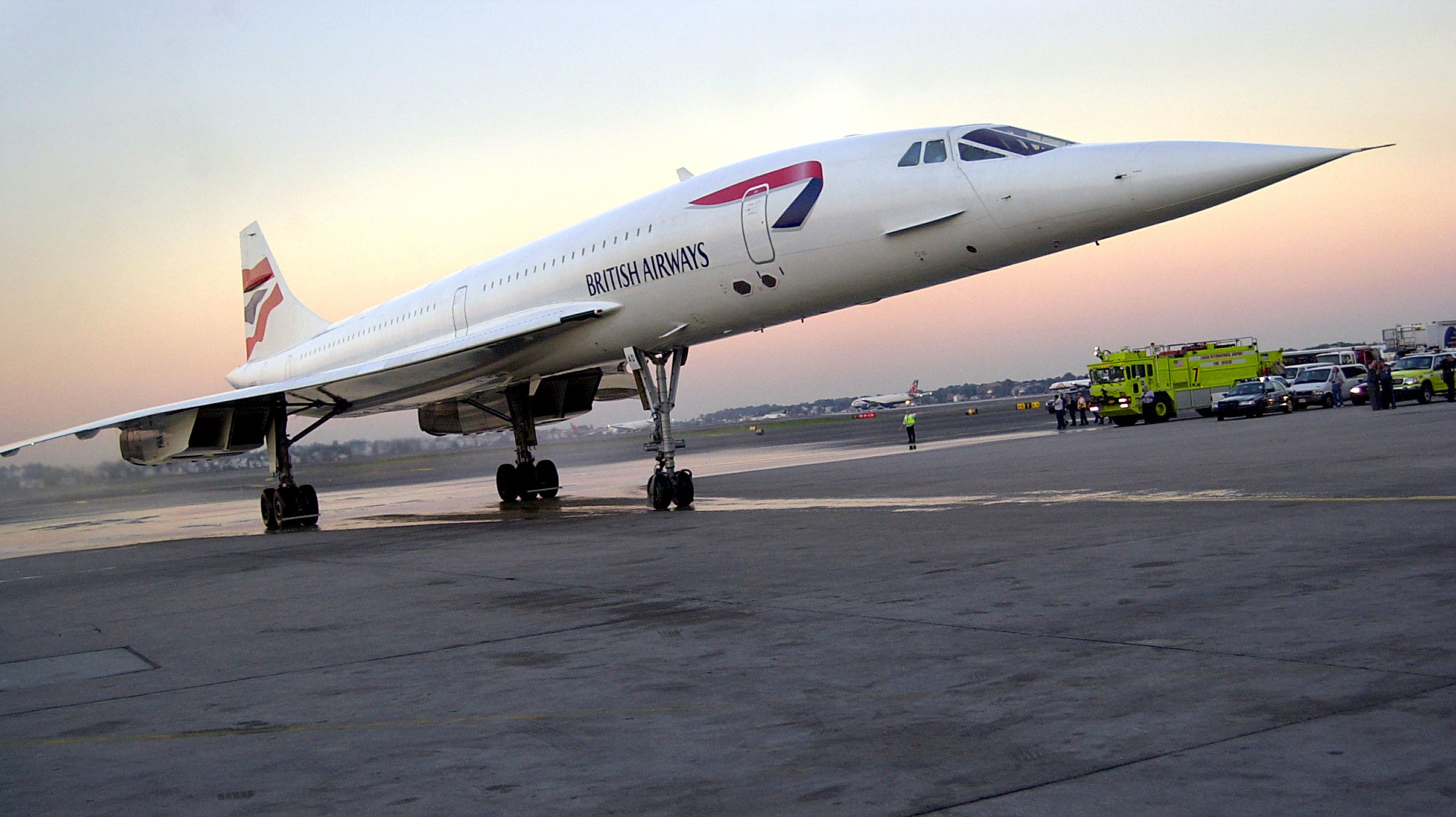 This Is What The Sonic Boom From The Concorde Sounded Like