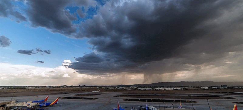 Watch A Crazy Storm Consume The Skies Above Phoenix