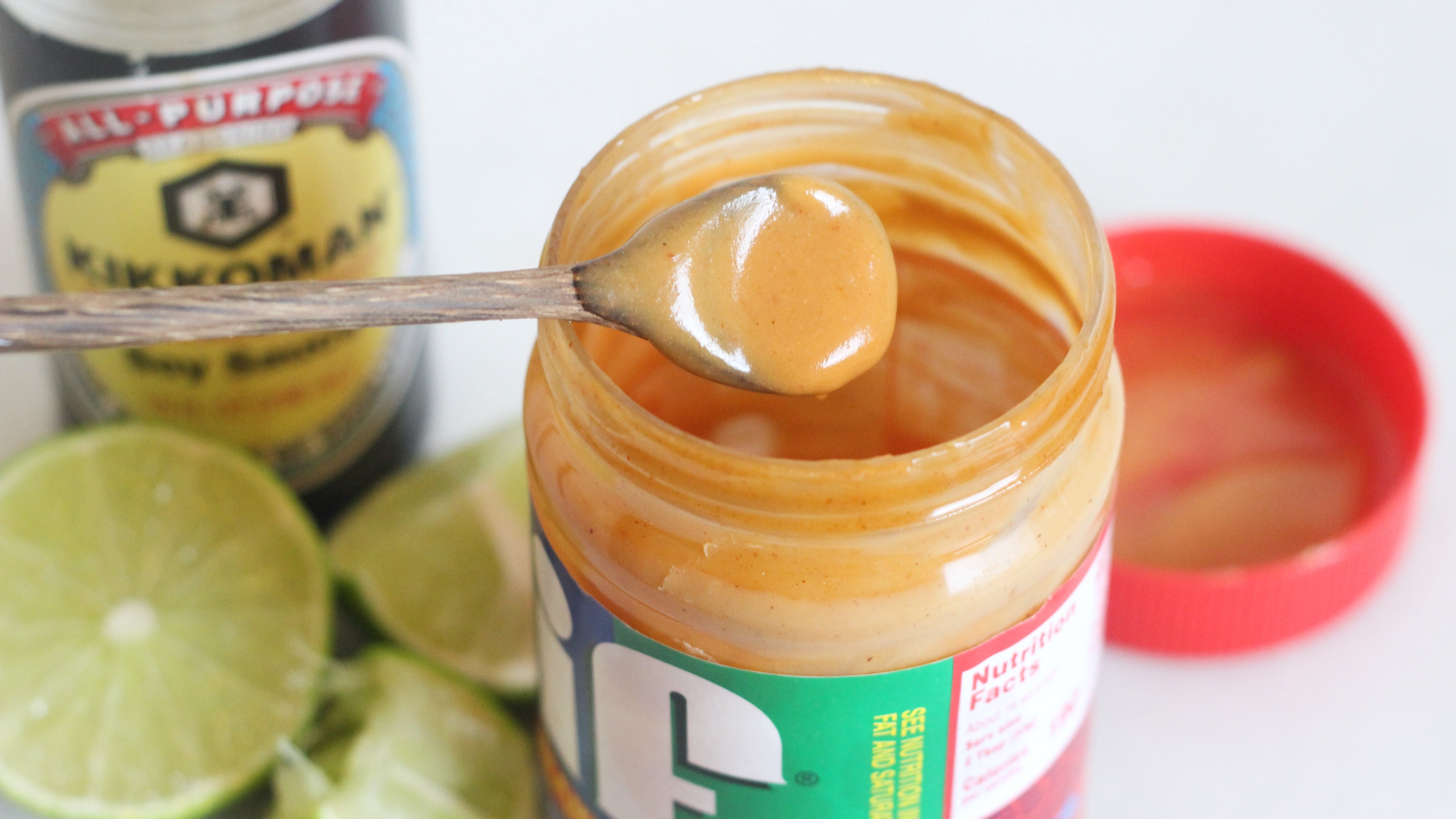 Use An Almost-Empty Jar Of Peanut Butter To Make A Dipping Sauce
