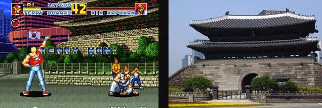 Fighting Game Locations in Real-Life