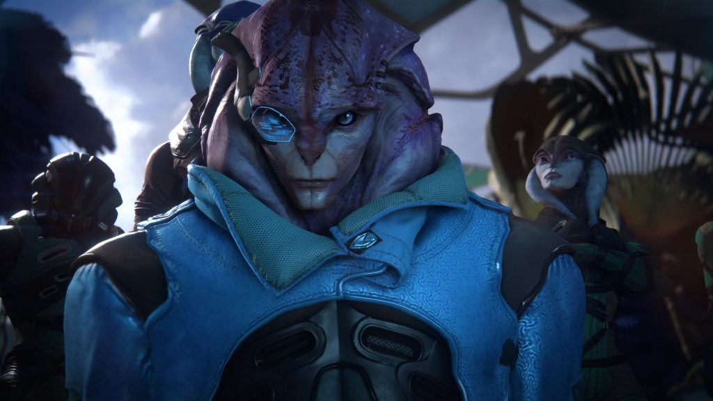 Andromeda patch reveals Jaal is bisexual