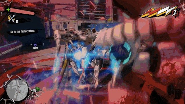 Excellent Respawn Animation, Sunset Overdrive