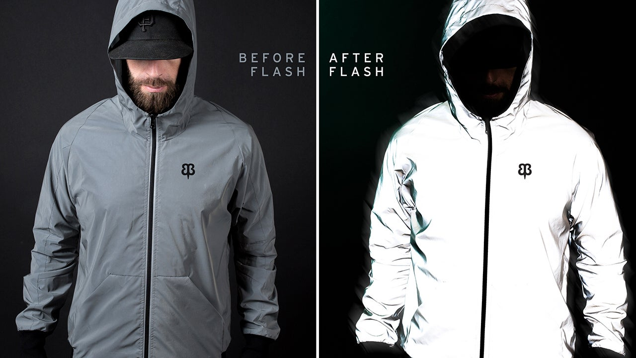 Highly Reflective Clothing Turns Paparazzi's Camera Flashes Against Them