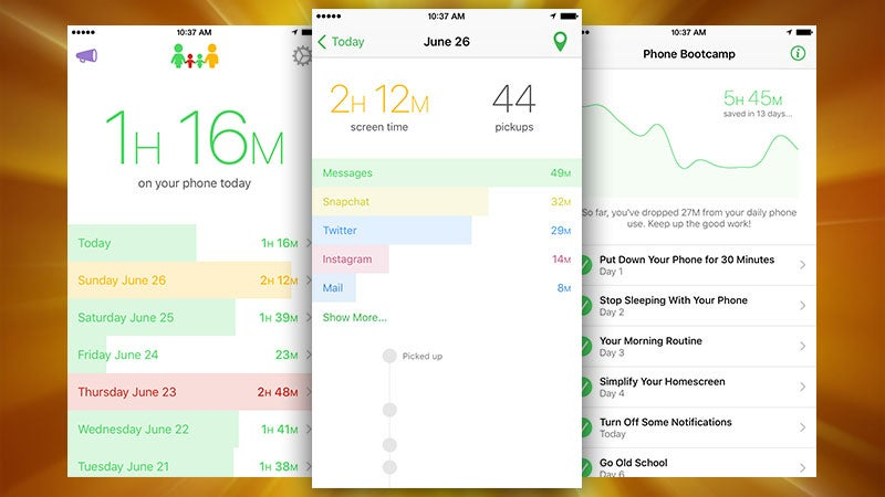 Moment, The iPhone App That Tracks Your Usage, Now Displays How Much Time You're In Apps