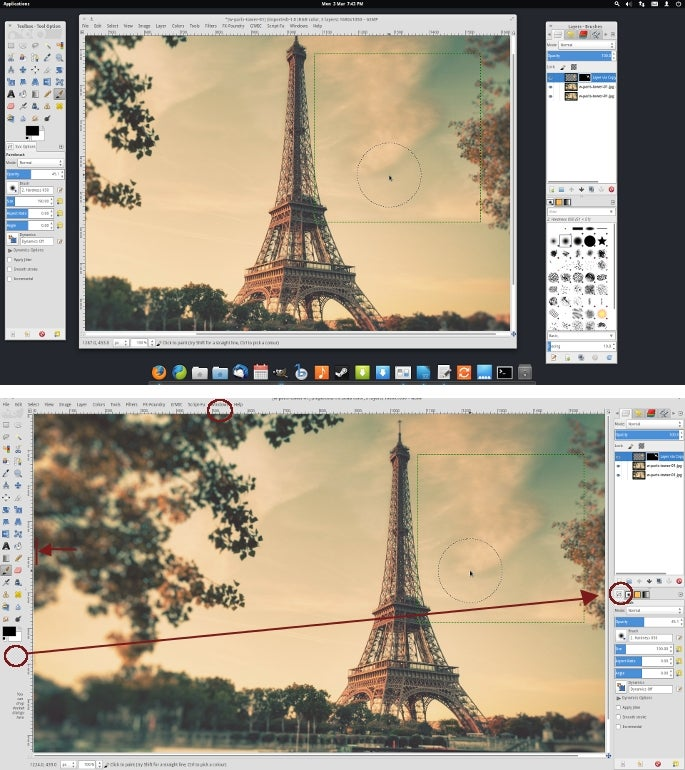 How to Make GIMP Work More Like Photoshop
