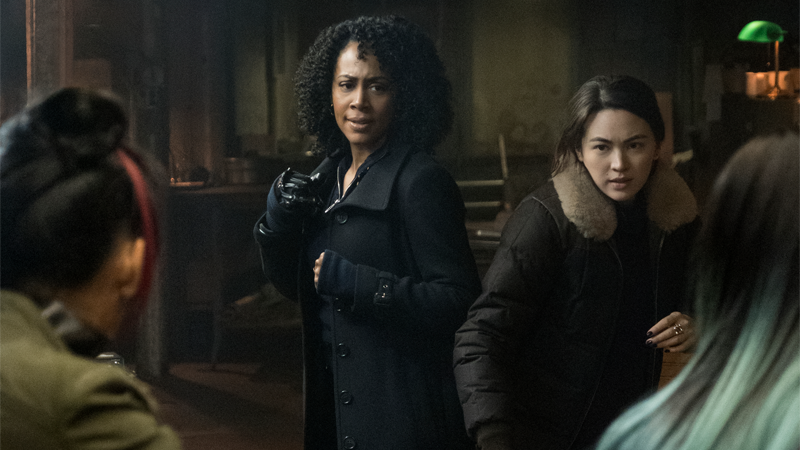 The First Pictures From Iron Fist Season 2 Include A Badarse-Looking Daughters Of The Dragon Teamup