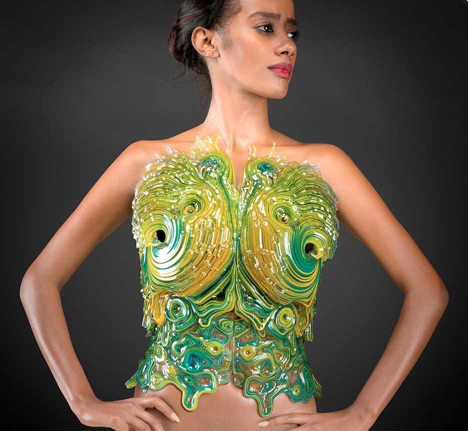 Crazy cool bikinis or bio-suits for interplanetary travellers? You decide