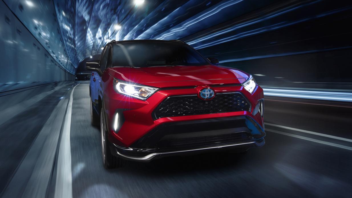 The 2021 Toyota RAV4 Prime Makes 302 Goddamn HP!!!