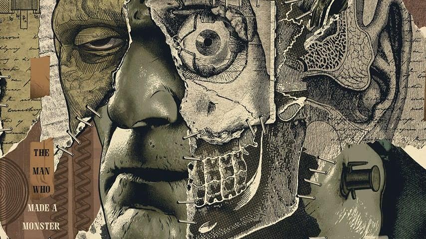 This Excellent Frankenstein Poster Looks Totally Frankensteined