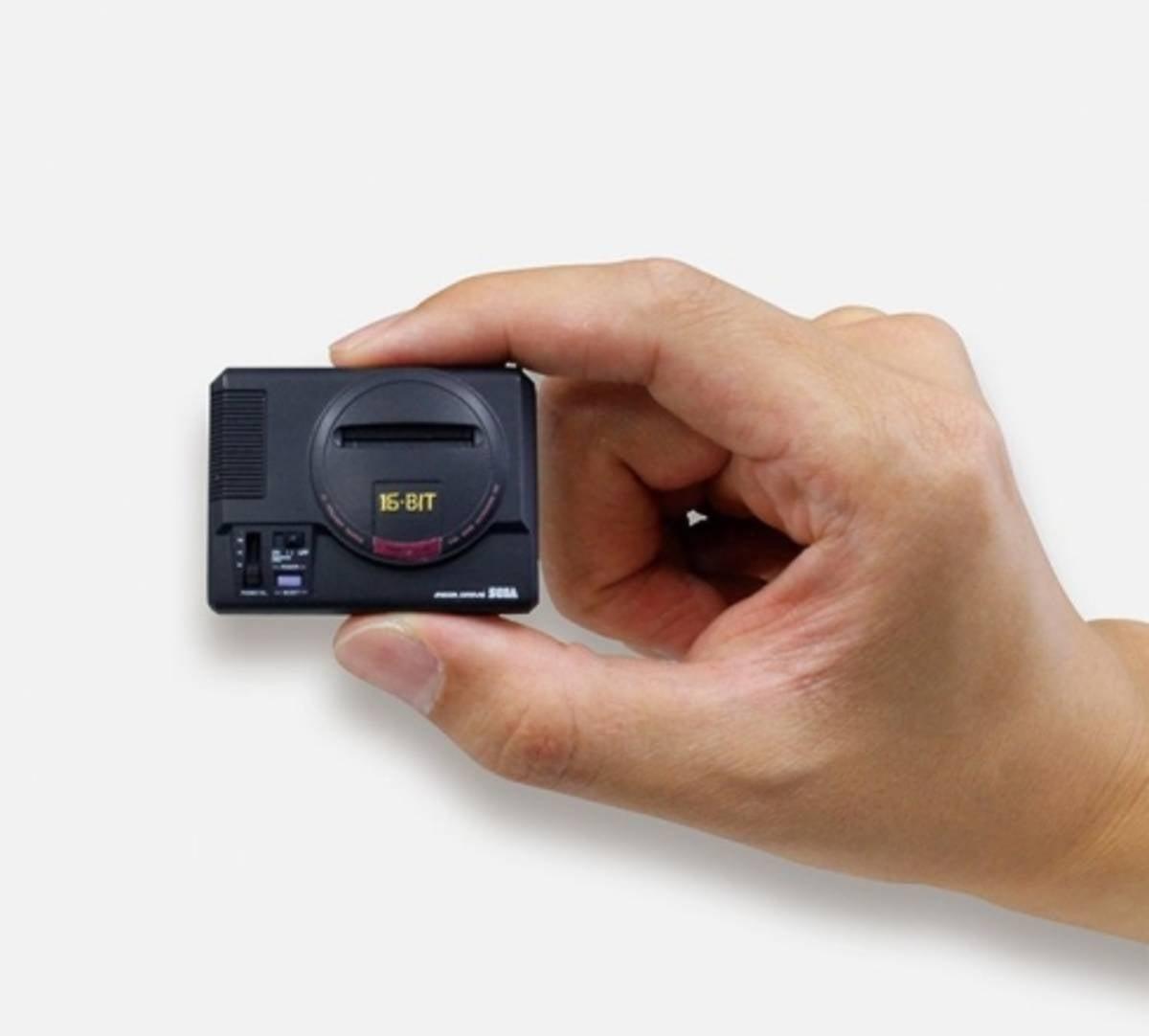 The Sega Genesis Turned Tiny For Capsule Toys