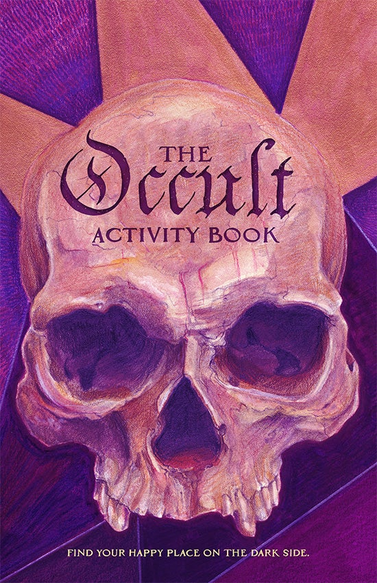 Attention, Artistic Creatures of the Night: You Need a Copy of The Occult Activity Book
