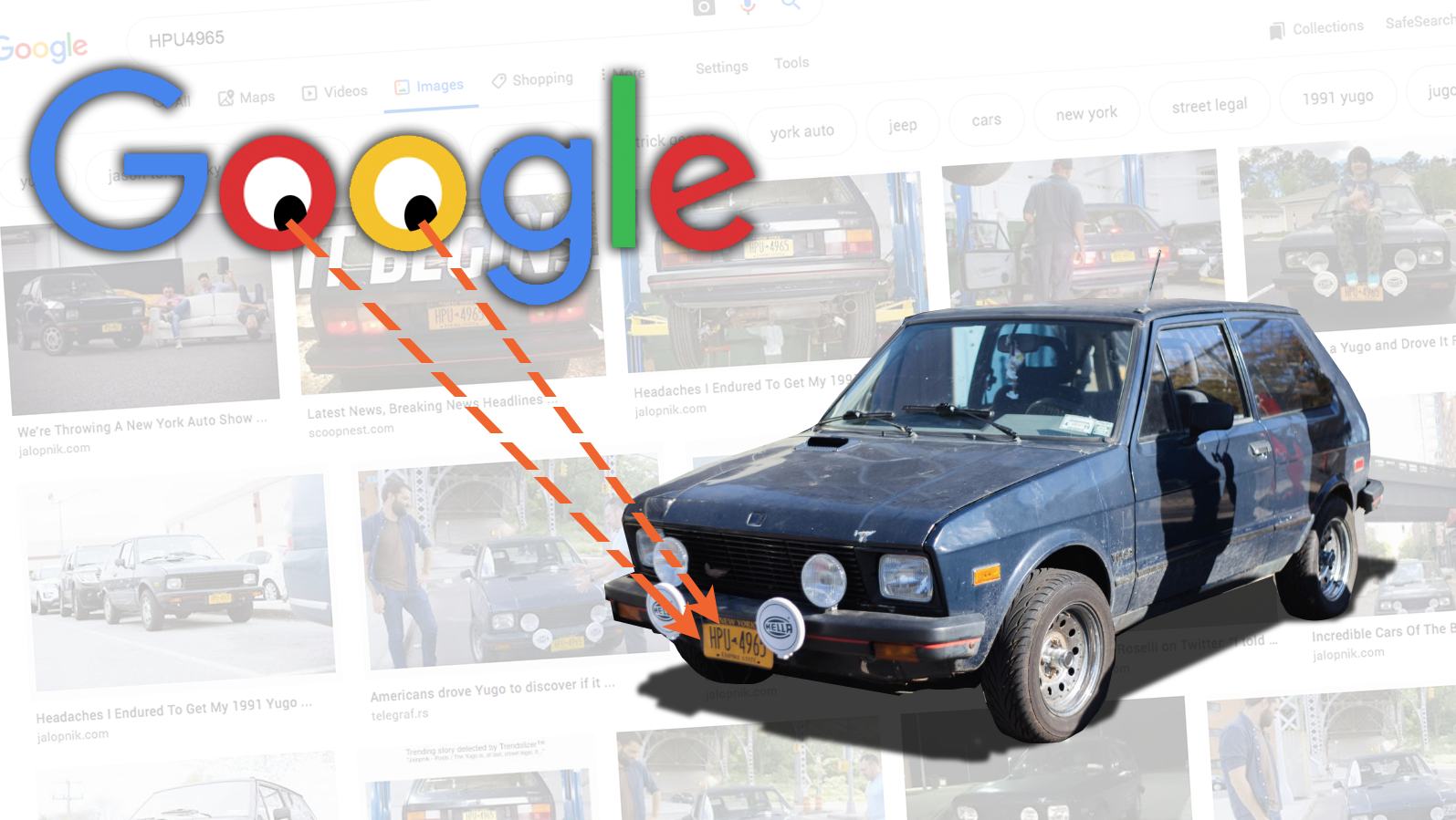 Google And Facebook Are Reading Your Licence Plates