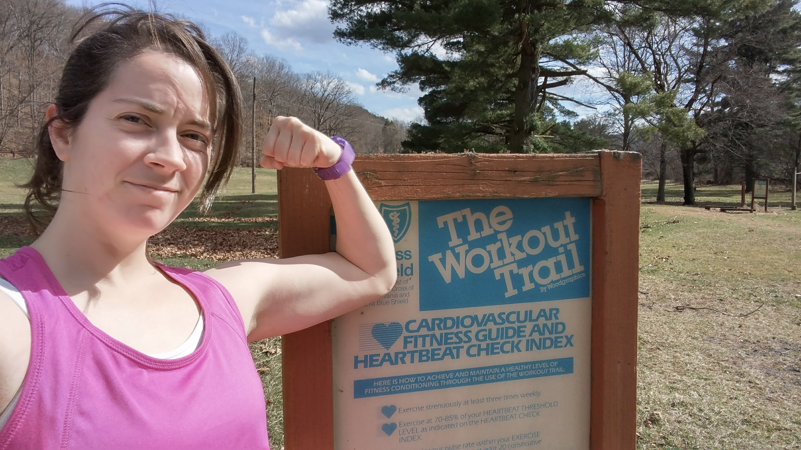 Find A Fitness Trail And Exercise Like It's 1992