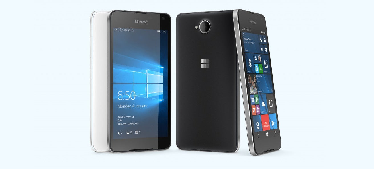 Microsoft's Newest Windows Phone Is The Lumia 650