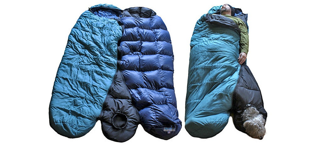 A Sleeping Bag Add-on That Gives Your Dog a Warm Spot to Snooze