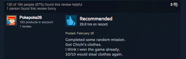 Dragon Ball Xenoverse, As Told By Steam Reviews