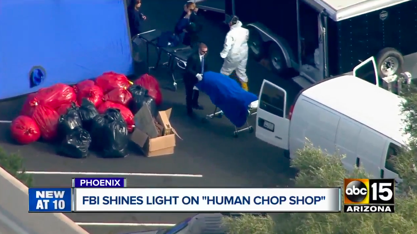 FBI Finds Bucket Of Heads, Cooler Of Penises, Sewn 'Frankenstein' Corpse At Body Donation Center
