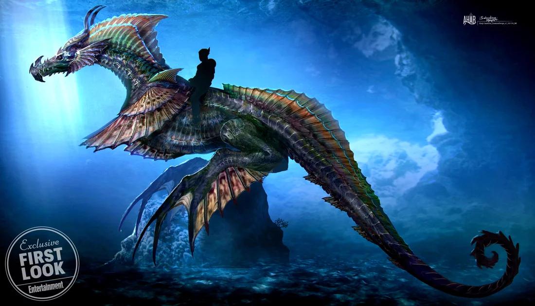 Aquaman No Longer Rides A Sea Horse In His Movie, Because