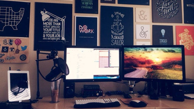 The Inspirational Workspace