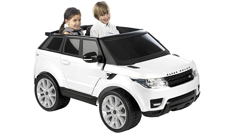Buying A Child-Sized Range Rover Is Definitely Spoiling Your Kids