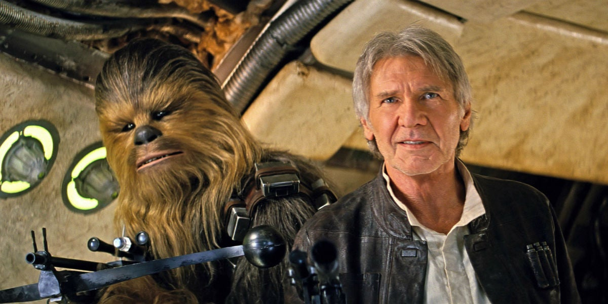 Star Wars Producers Fined $2.5 Million For Crushing Harrison Ford's Leg
