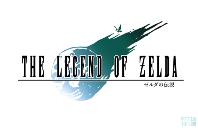 If Zelda Had Final Fantasy Logos
