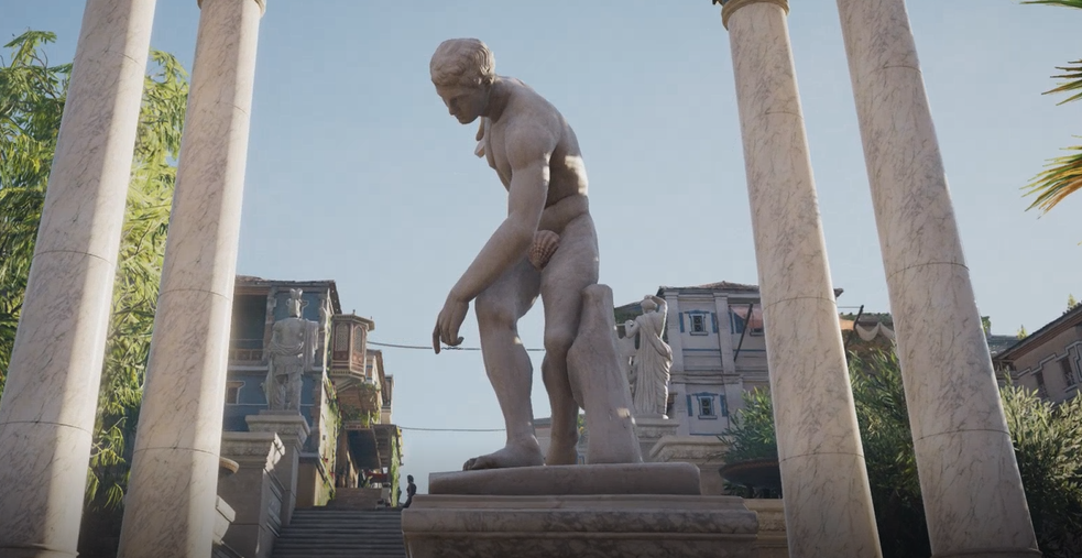Assassin's Creed: Origins' Tour Mode Censors Naked Statues