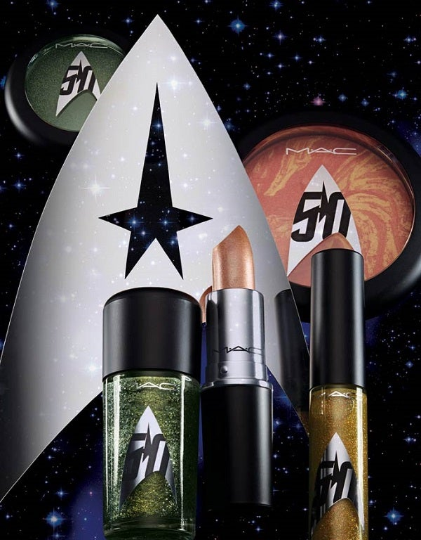 I Just Want to Smear the MAC Star Trek Makeup All Over My Face Right Now