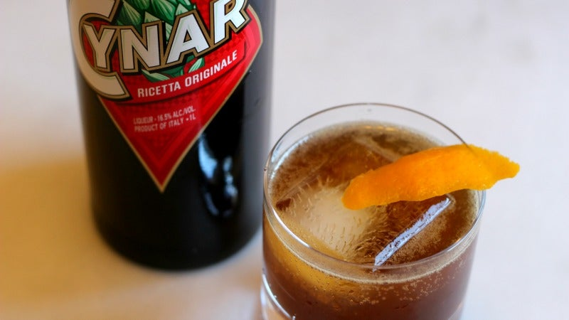 3-Ingredient Happy Hour: The Pleasantly Bitter Cynar Fizz
