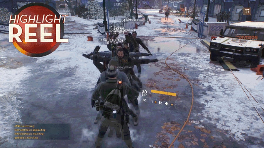 The Division Players Can't Stop Doing Jumping Jacks