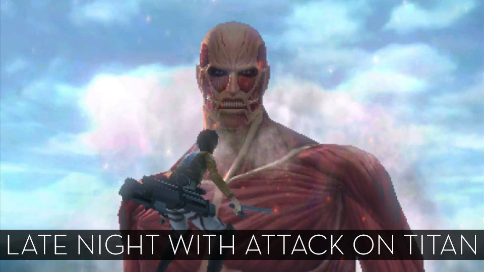 The Up All Night Stream Plays Attack on Titan (Stream Complete)