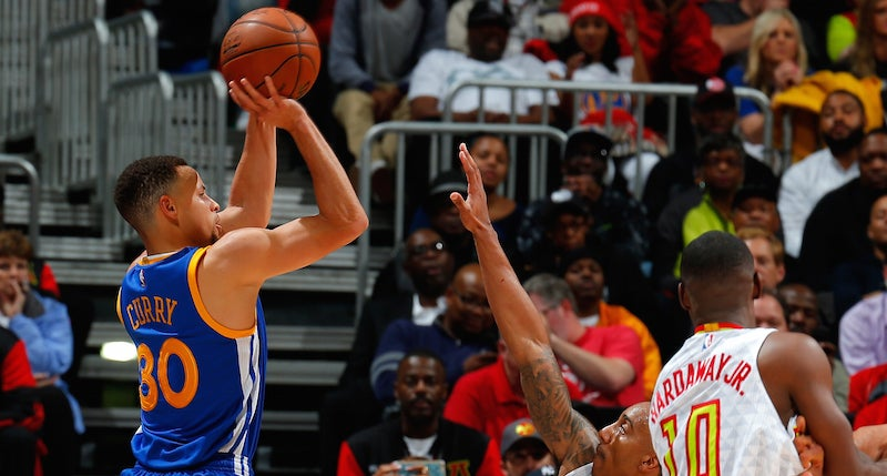 Steph Curry Is So Good, NBA 2K Can't Depict Him