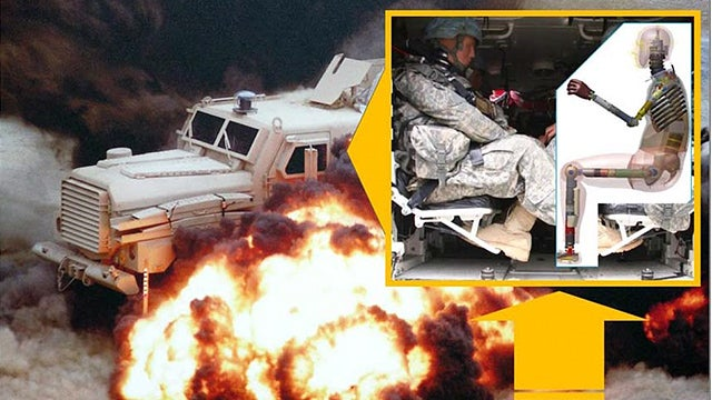 The Army's Developing a Crash Test Dummy to Measure Explosive Shockwaves