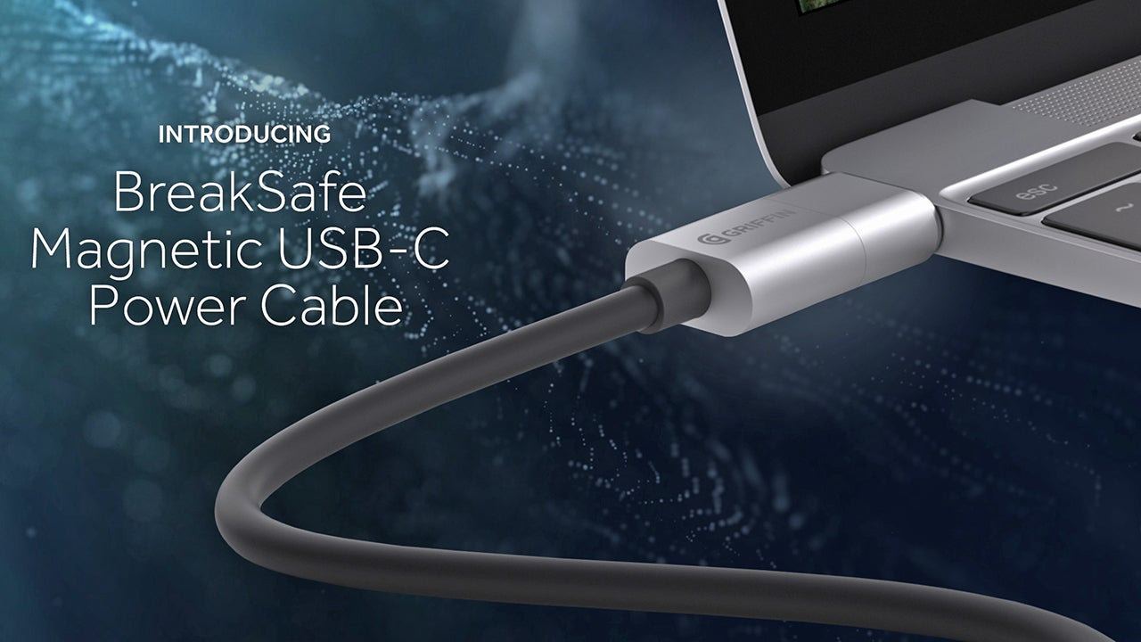 Griffin's Quick-Release BreakSafe Cable Gives MagSafe Powers to USB-C