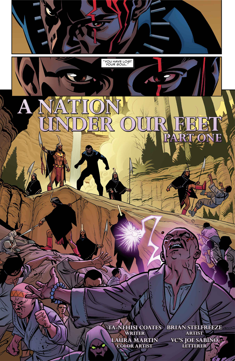 The New Black Panther Comic Is Off to an Amazing Start