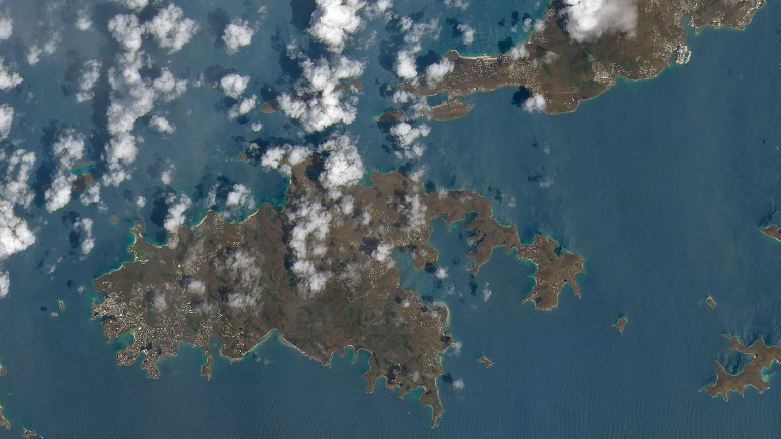 NASA Satellite Images Show How Hurricane Irma Devastated The Caribbean