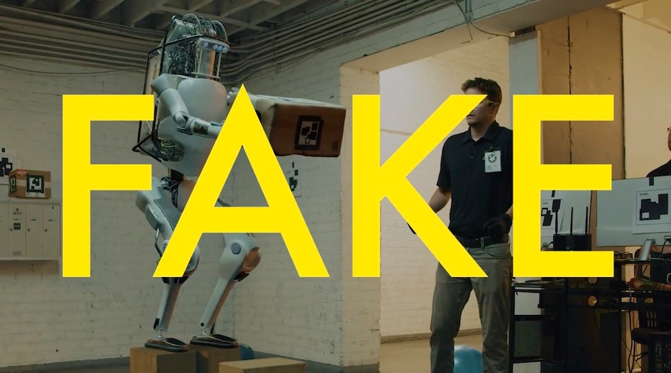 That Viral Video Of A Robot Uprising Is Fake Because The Real Thing Will Be So Much Deadlier