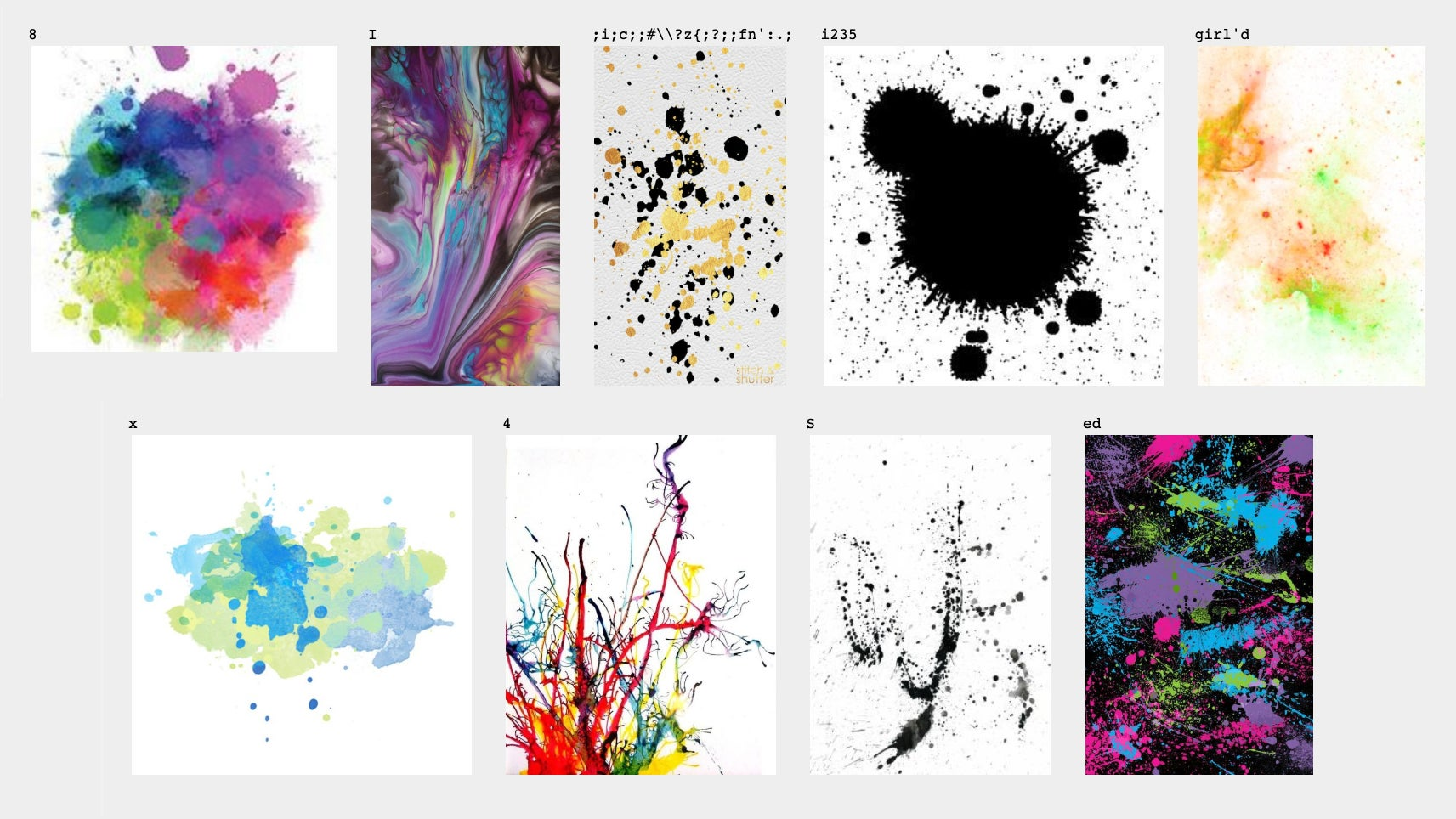 Even Random Paint Splatters Can Be Valid Computer Code (If You're Using Perl)